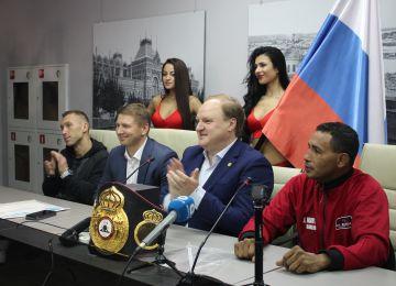Открытие турнира по профессиональному боксу «Коррида в Нижнем» состоялось в конгресс-отеле «Маринс Парк Отель Нижний Новгород»