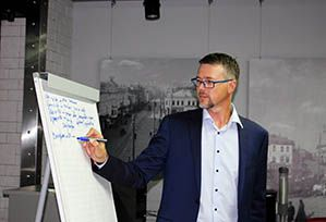 Обучающий тренинг для сотрудников компании «Первый Мясокомбинат» состоялся в конгресс-отеле «Маринс Парк Отель Нижний Новгород»