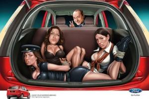 Индийский Ford извинился за рекламу с Берлускони