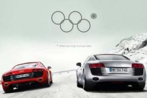 Реклама Audi с нераскрывшимся олимпийским кольцом оказалась «фейком»