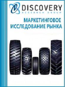 Анализ рынка грузовых (включая ЦМК) шин в России по типоразмерам: итоги 2015 г.