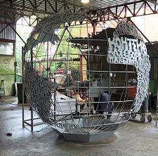 Новый арт-объект в Краснодаре послужит для сбора мусора