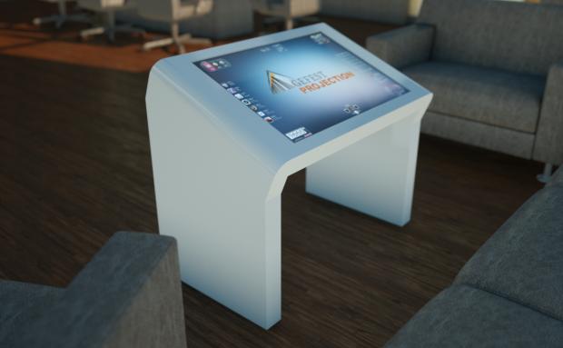 «Гефест Проекция» предоставила интерактивный стол на Alfa Business Forum