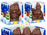 Петух из шоколада — символ 2017 года