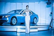 Показ Александры Серовой для BMW
