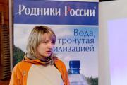 Тутта Ларсен сажала деревья вместе с «Родниками России»