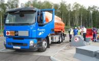 «Газпромнефть» провела конкурс водительского мастерства на бензовозах Volvo