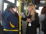 Открытый диалог: реклама - зритель. «Телемост» из автобуса.