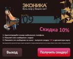«ЭКОНИКА» делает ставку на новые рекламные носители