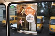 Реклама на транспорте прокладывает путь к карьере