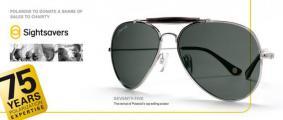 Компания Polaroid Eyewear объявила о сотрудничестве с благотворительной организацией Sightsavers