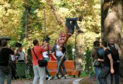 В Киеве состоялся первый в Украине PoleArt-флешмоб!