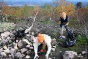 Завершена комплексная очистка от бытового мусора и обустройство стоянок на популярных туристических маршрутах Пермского края