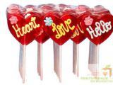 Карамельные валентинки для клиентов и коллег