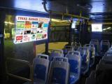 R8 сняла видео VIP световой рекламы на транспорте