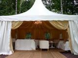 Специальная цена на шатры-пагоды для проведения мероприятий от компании «РОДЕР»