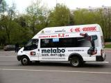 Metabo оборудовал транспорт рекламой