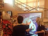 Интерактивная проекционная инсталляция от РБ «Артель»