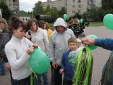 Раздача шаров на День Города