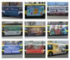 Реклама на транспорте – это модно