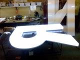Буквы объёмные световые