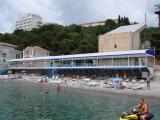 Собственный пляж комплекса