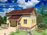 «Вудвилль» завершает строительство демонстрационного  дома в Воронежской области. Этот дом может купить для проживания любой желающий