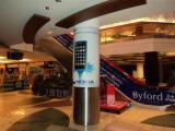 Реклама Nokia на колонне