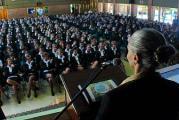 Тур за права человека поставил своей целью покончить с нарушениями прав детей и молодёжи