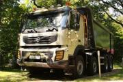 Volvo Trucks, ЗАО «Бецема» и SSAB представили революционную конструкцию самосвального кузова Convex на шасси Volvo FMX