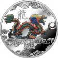 «Терра Банк» презентует новую серебряную монету «Дракон»
