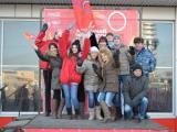 Олимпийский огонь в Астрахани
