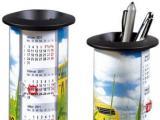 Подставка для ручек с календарём Walz 5015. сувенирная компания АлексГраф. www.presentline.ru