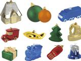 Ёлочные шары под нанесение логотипа, ёлочные украшения.