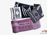 Шапки шарфы с логотипом в коорпоративных цветах