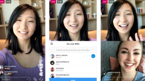Instagram начал тестирование совместных прямых трансляций в приложении