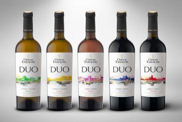 Винодельня «Кубань-Вино» выпустила серию тихих вин «DUO» в обновленном дизайне