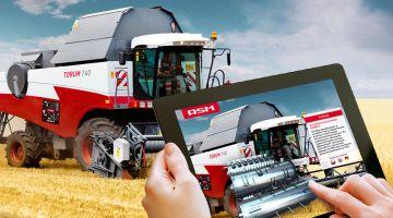 Мобильное приложение для одного из мировых производителей сельхозтехники