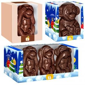 Шоколадная обезьяна - символ 2016 года