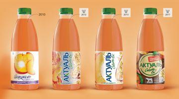 Брендинговое агентство Wellhead разработало новый дизайн упаковки сывороточного напитка «Актуаль» компании DANONE