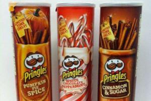 Чипсы Pringles сделают со вкусом белого шоколада и корицы