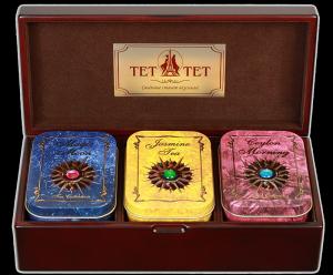 Чай в подарочной упаковке с брендированием