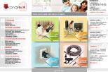 Сайт для компании Эколайн: встроенные центральные пылесосы