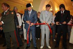 В Грозном состоялось открытие фотовыставки известного российского фотографа Сергея Поливца 22.08.2011 г