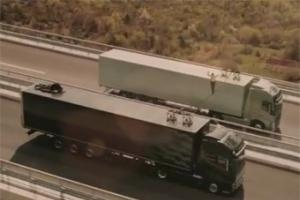 Ролик Volvo с опасным трюком собрал 400 тысяч просмотров за два дня
