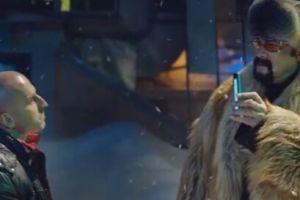 "Стивен Сигал напугал гопников в рекламе компании ""Мегафон"""