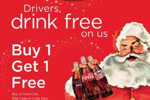 Coca-Cola предложит бесплатную газировку трезвым водителям