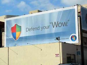 Microsoft потратит на рекламу Windows Vista 300 миллионов долларов