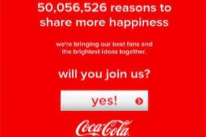 Coca-Cola предложила своим фанатам сделать мир счастливее