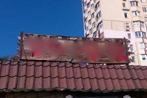 В Одессе демонтируют незаконную рекламу